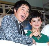「おおさか魅力満喫キャンペーンin oazo『You Know OSAKA?』」プレスイベントに出席した(左から)今田耕司、ホラン千秋 (C)ORICON NewS inc.