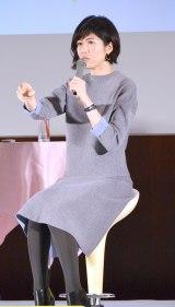 『ママモコモてれび』トークショーを行った小島慶子 (C)ORICON NewS inc.