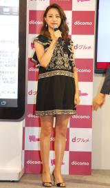 NTTドコモ『dグルメ』×映画『俺物語!!』タイアップ企画PRイベントに出席した高橋メアリージュン (C)ORICON NewS inc.