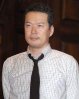 舞台『オレアナ』公開フォトコール後取材に応じた田中哲司 (C)ORICON NewS inc.