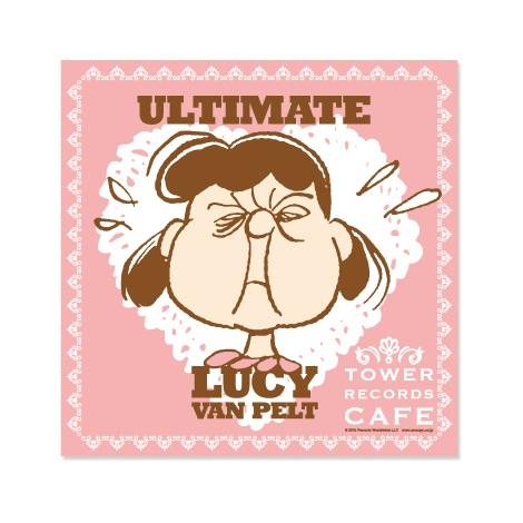 『スヌーピー × TOWER RECORDS CAFE ランチクロス(A、B)』(税抜価格:各700円) (C)2015 Peanuts Worldwide LLC www.snoopy.co.jp