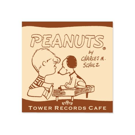 『スヌーピー × TOWER RECORDS CAFE ミニハンドタオル』(税抜価格:500円) (C)2015 Peanuts Worldwide LLC www.snoopy.co.jp