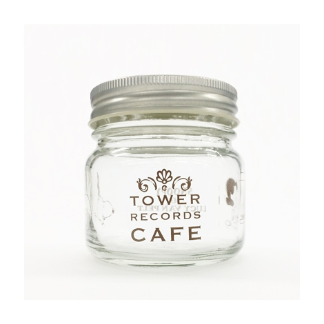 『スヌーピー × TOWER RECORDS CAFE 保存瓶』(税抜価格:800円) (C)2015 Peanuts Worldwide LLC www.snoopy.co.jp