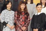 連続テレビ小説『とと姉ちゃん』に出演が決定した(左から)相楽樹、高畑充希、杉咲花 (C)ORICON NewS inc.