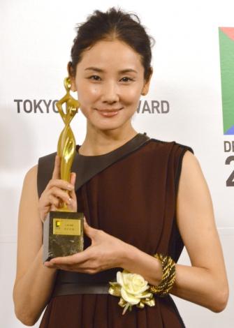 『HERO』で「東京ドラマアウォード2015」助演女優賞を授賞した吉田羊 (C)ORICON NewS inc.