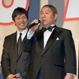『劇場版 MOZU』の初日舞台あいさつでビートたけしのネタに西島秀俊も大笑い (C)ORICON NewS inc.