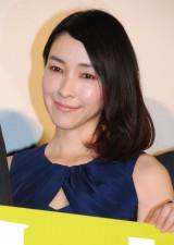 映画『グラスホッパー』初日舞台あいさつに登壇した麻生久美子 (C)ORICON NewS inc.