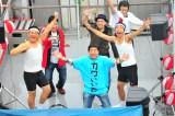 『ニコニコ町会議 in 大阪府 大阪市 水都大阪 ミナ!キタ!フェスティバル2015』オープニングには西川きよし、藤崎マーケットらが登場した