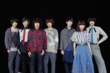 10月8日スタートのアニメ『すべてがFになる』OP曲を担当するKANA-BOON(左側の4人)とED曲を担当するシナリオアート(右側3人)