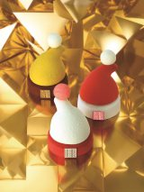 「FAUCHON」から発売するクリスマスミニケーキ『サンタハット』3種