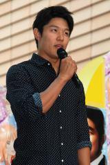 『俺物語!!』映画&アニメスペシャルコラボイベントに出席した鈴木亮平 (C)ORICON NewS inc.