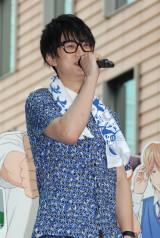 『俺物語!!』映画&アニメスペシャルコラボイベントに出席した江口拓也 (C)ORICON NewS inc.