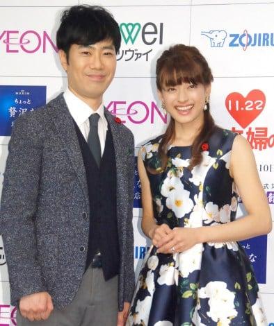 サムネイル 結婚10年もラブラブぶりを披露した藤井隆&乙葉夫妻 (C)ORICON NewS inc.