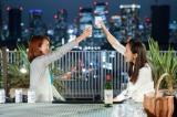 アラサーの杏とアラフォーの美樹(中越典子)は幸せをつかめるのか(C)NHK