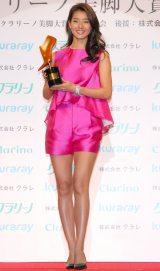 『第13回 クラリーノ美脚大賞2015』表彰式に出席したすみれ (C)ORICON NewS inc.