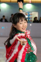 クリスマスは「ケーキを作りたい」と笑顔で語った本田望結 (C)ORICON NewS inc.