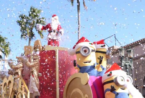 サムネイル USJのクリスマスイベント『ユニバーサル・ワンダー・クリスマス』にミニオンが初登場! (C)oricon ME inc.