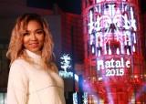 『NATALE 2015〜ラ チッタデッラのクリスマス〜』イルミネーション点灯式に登場したCrystal Kay (C)oricon ME inc.