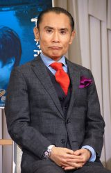 NHK BSプレミアム岡山発地域ドラマ『インディゴの恋人』ロケ地取材会に出席した片岡鶴太郎 (C)ORICON NewS inc.