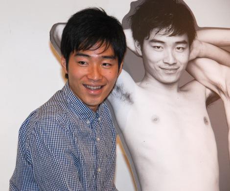 ヌード写真集『SUPER JARUJARU』発売記念イベントに出席したジャルジャル・後藤淳平 (C)ORICON NewS inc.