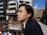 若き日の明石家さんまを演じる菅田将暉(C)日本テレビ