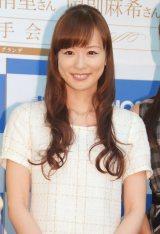 『セント・フォース×スピリッツ35周年メモリアルムック』刊行記念イベントに出席した皆藤愛子 (C)ORICON NewS inc.