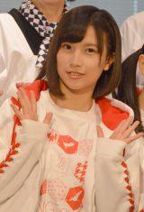 『新潟米コシヒカリで作る!ニホンのキホンのゴハン』イベントに出席したNGT48の佐藤杏樹 (C)ORICON NewS inc.