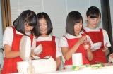『新潟米コシヒカリで作る!ニホンのキホンのゴハン』イベントに出席したNGT48 (C)ORICON NewS inc.