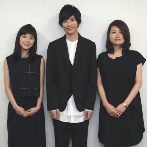 左から芳根京子、志尊淳、池田千尋監督 (C)ORICON NewS inc.