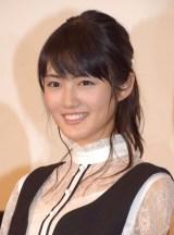 映画『先輩と彼女』初日舞台あいさつに出席した水谷果穂 (C)ORICON NewS inc.