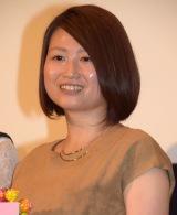 映画『先輩と彼女』初日舞台あいさつに出席した池田千尋監督 (C)ORICON NewS inc.