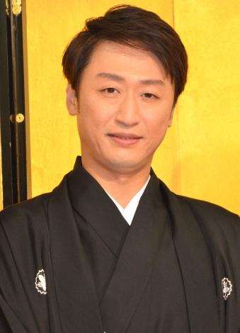 劇団新派に入団し、二代目喜多村緑郎を襲名することとなった市川月乃助 (C)ORICON NewS inc.