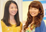 三倉佳奈(左)の第2子妊娠を祝福した姉の三倉茉奈(右) (C)ORICON NewS inc.