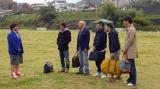 ダウンタウンのガキの使いやあらへんで!!大晦日年越しスペシャル「絶対に笑ってはいけない名探偵24時!」の撮影風景(C)日本テレビ