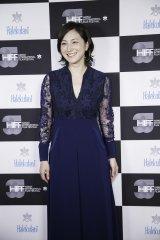 『第35回ハワイ国際映画祭』でキャリア功労賞を受賞した広末涼子