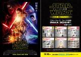 『スター・ウォーズ/フォースの覚醒』IMAX 3D版をキャンペーン参加劇場で観賞し半券1枚を事務局に送ると、抽選で「スター・ウォーズ」賞品が当たる
