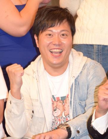 『R-1ぐらんぷり2016』記者会見に出席したエハラマサヒロ (C)ORICON NewS inc.