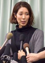 阿藤快さんの訃報を受け、会見を行った大林素子 (C)ORICON NewS inc.