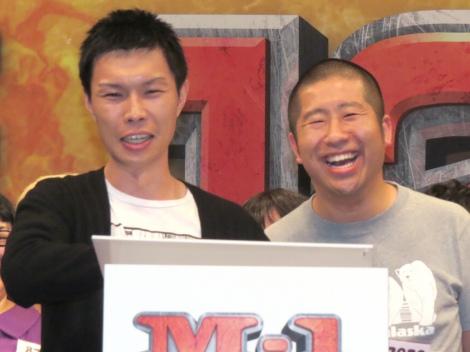 『M-1グランプリ2015』の決勝に進出するハライチ(左から)岩井勇気、澤部佑 (C)ORICON NewS inc.