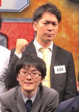 『M-1グランプリ2015』の決勝に進出するスーパーマラドーナの(下から)田中一彦、武智 (C)ORICON NewS inc.