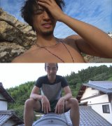 斎藤工(上)と森山未來(下)が自撮りドキュメンタリーに挑戦。『ジドリ』12月5日、NHK総合で放送(C)NHK