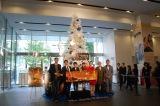 映画『リトルプリンス 星の王子さまと私』クリスマスツリーが東京・新宿ピカデリーに登場 (C)ORICON NewS inc.
