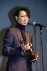 『第7回TAMA映画賞』で最優秀男優賞を受賞した綾野剛(C)ORICON NewS inc.