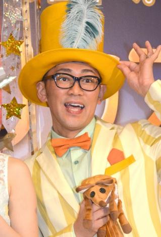 『リトルプリンス 星の王子さまと私』展を訪れたビビる大木 (C)ORICON NewS inc.