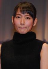 映画『つむぐもの』完成報告舞台あいさつに登壇した吉岡里帆 (C)ORICON NewS inc.
