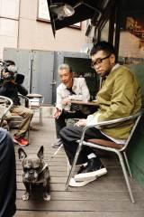 槇原敬之の愛犬も一緒に(C)テレビ朝日