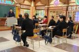 11月30日放送、『しくじり先生 俺みたいになるな!! 3時間スペシャル』で授業を行う波田陽区(C)テレビ朝日