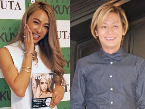 10年ぶりに再会したGENKING(左)と元恋人の小椋ケンイチ(右) (C)ORICON NewS inc.