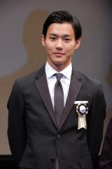 『第7回TAMA映画賞』で最優秀新進男優賞を受賞した野村周平 (C)ORICON NewS inc.