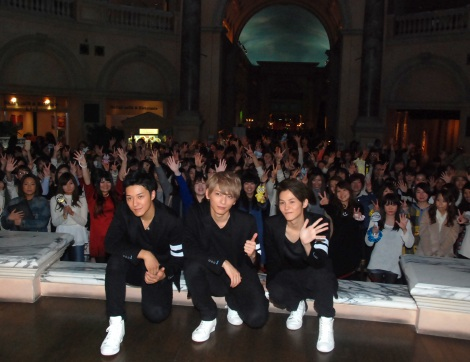 ファン約1000人が集結=Lead 26枚目のシングル「約束」のリリース記念イベント (C)ORICON NewS inc.